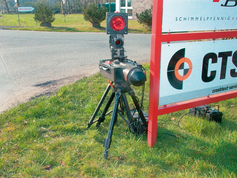 Radarmessanlage