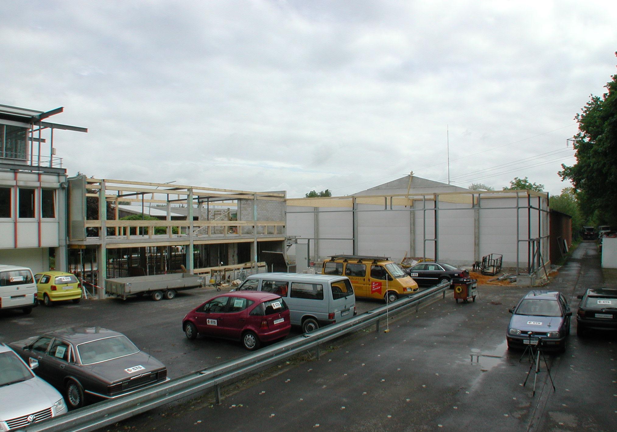 Gebäude in der Umbauphase